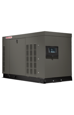 honeywell liquid-cooled home generator